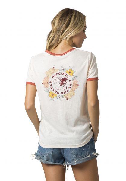 Rip Curl T-Shirts Island Time lightpink vorderansicht 0320266