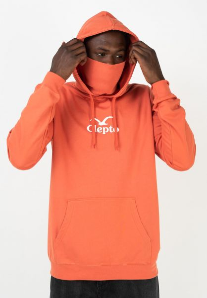 Cleptomanicx Hoodies CI Mask chilli vorderansicht 0446109
