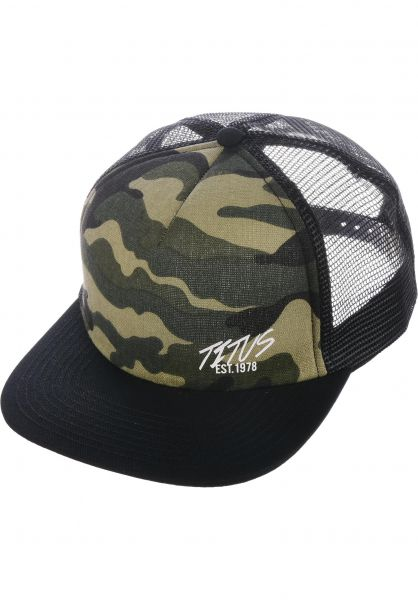TITUS Caps Flash Mini Mesh black-camouflage-black vorderansicht 0565778
