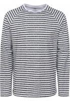 TITUS Longsleeves Hannes darkgrey-striped rueckenansicht 0382653