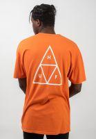 huf-t-shirts-triple-triangle-rust-vorderansicht-0390861