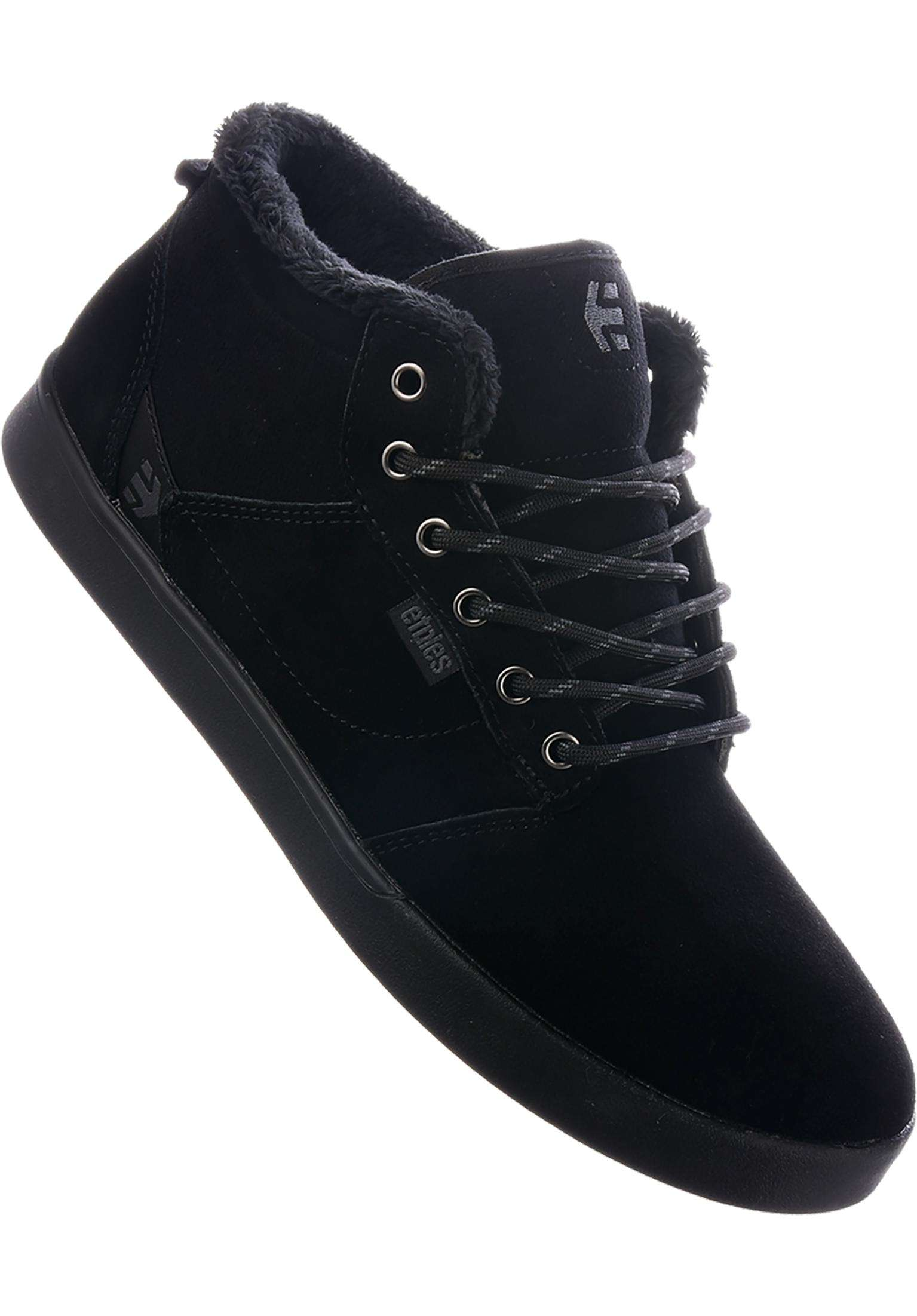 Jefferson Mid etnies All Shoes in black-black for Men  16805a938