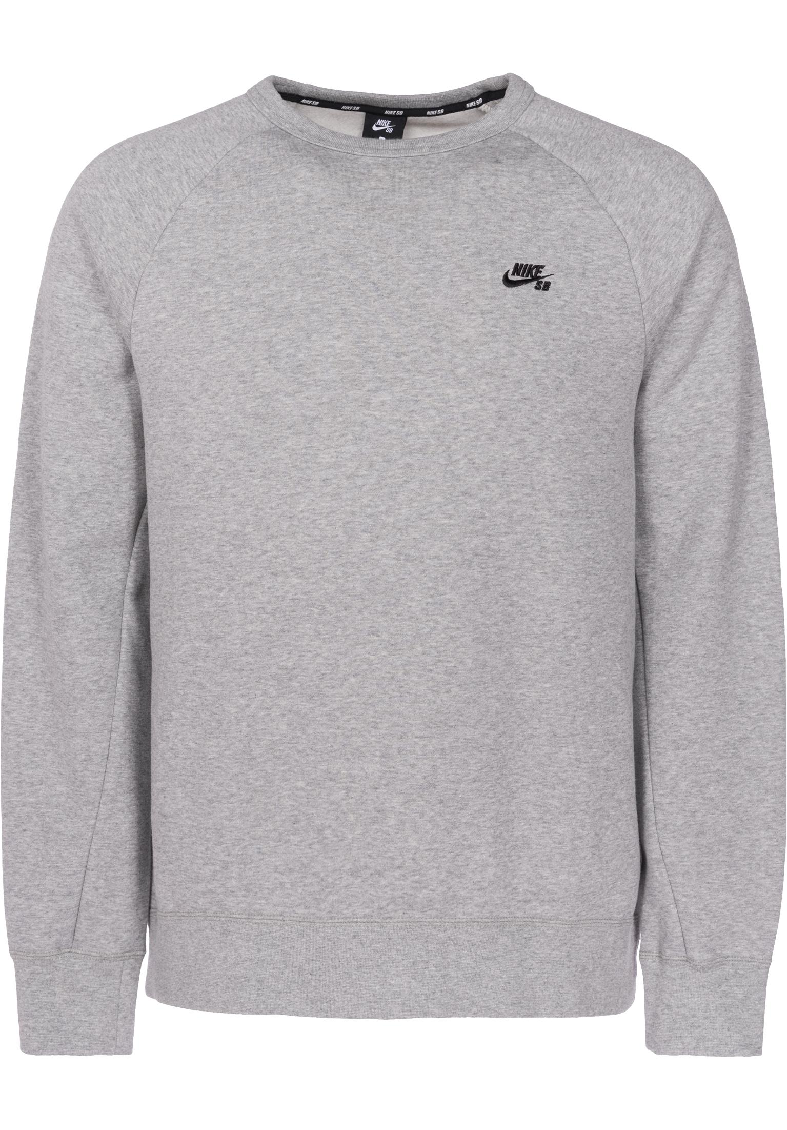 a72bc03d SB Icon Crew Fleece Nike SB Sweaters and Sweatshirts in  darkgreyheather-black for Men | Titus
