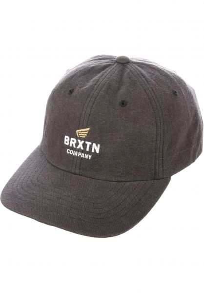 c986f4a5a10d2 ... coupon for brixton caps peabody dad hat charcoal vorderansicht ccd16  81d4f
