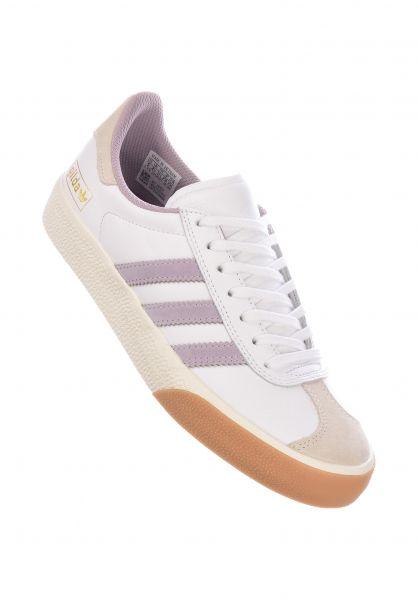 adidas Alle Schuhe Nora Gazelle ADV white-softvision-gum vorderansicht 0612574