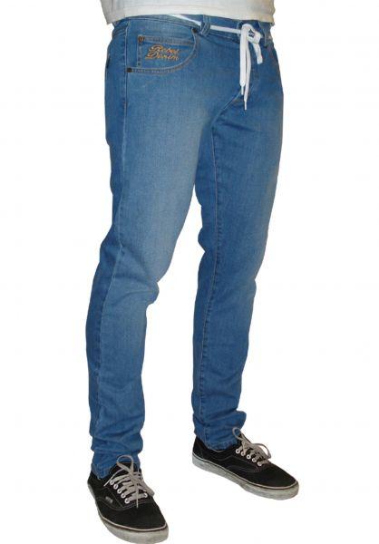 Rebel Rockers Jeans Tube Jeans lightblue-washed Vorderansicht