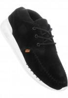 Djinns Alle Schuhe MocSoc 1 Skin black Vorderansicht