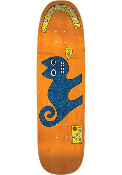 Toy-Machine Skateboard Decks Templeton Reissue Devil Cat natural Vorderansicht