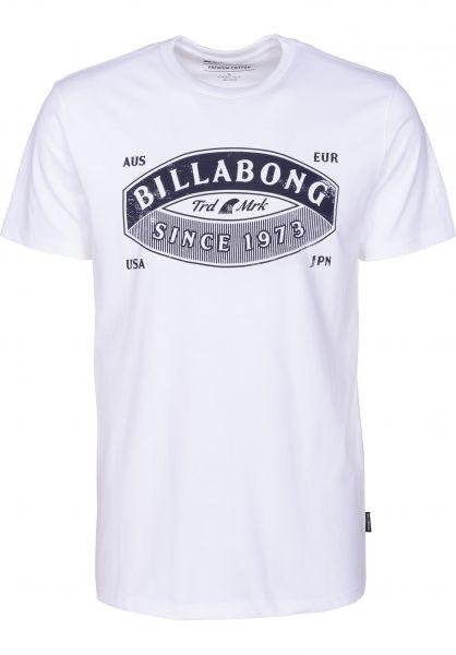 Billabong T-Shirts Guardiant white vorderansicht 0398775