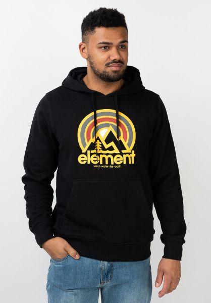 Element Hoodies Sonata flintblack vorderansicht 0445794