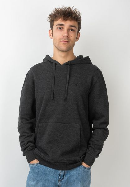 Rules Hoodies Delta darkgreymottled vorderansicht 0441476