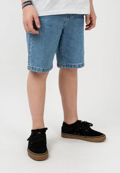 TITUS Shorts Frerik Kids blue-bleached vorderansicht 0278012