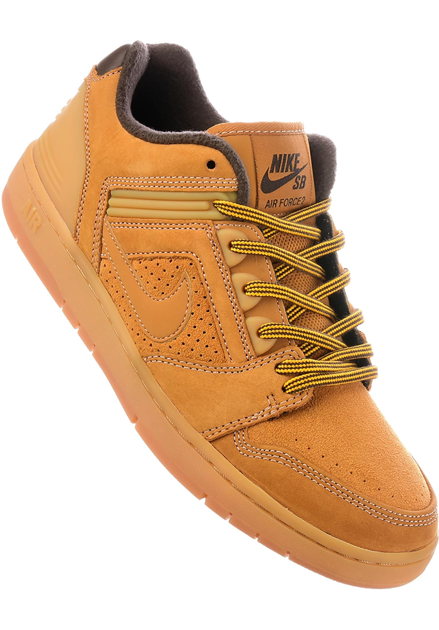 569e585149448 Air Force II Low Premium Nike SB All Shoes in bronze-bronze for Men ...