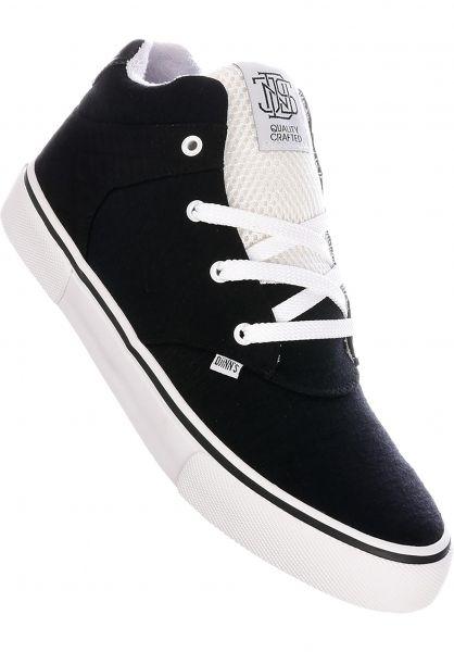 Djinns Alle Schuhe Chunk Lettermix black vorderansicht 0604577