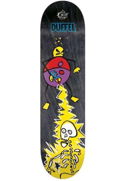 Foundation Skateboard Decks Duffel Phaser Reissue 30 Year natural vorderansicht 0264033