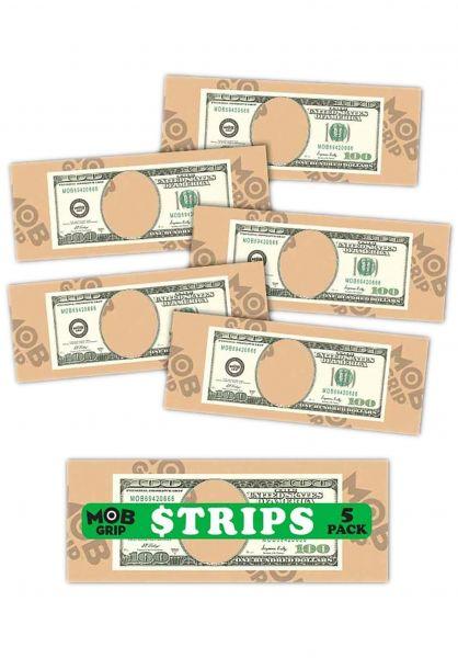 MOB-Griptape Griptape Hundos Grip Strips CLEAR 5 PK clear-green vorderansicht 0142634