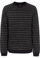TITUS Strickpullover Sasha grey-striped Vorderansicht