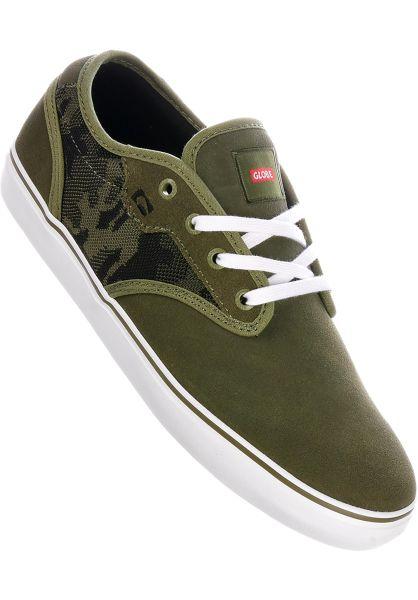 Globe Alle Schuhe Motley olive vorderansicht 0601384