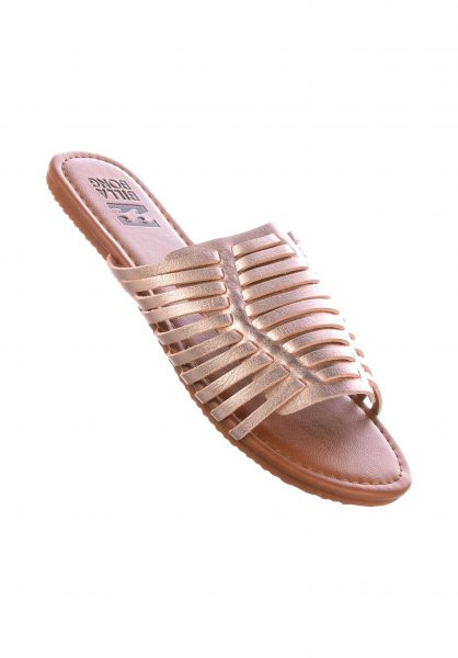 Billabong Sandalen Tread Lightly rosegold Vorderansicht