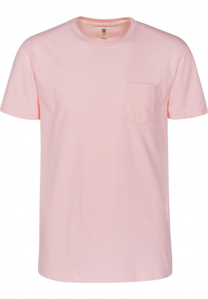 DC Shoes T-Shirts Basic Pocket 2 englishrose Vorderansicht