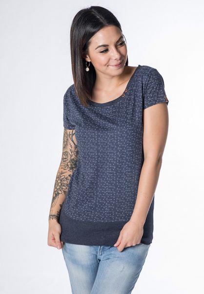 alife and kickin T-Shirts Coco marine-aop vorderansicht 0320754