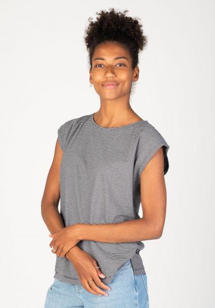 Forvert T-Shirts Kesilir darknavy-beige vorderansicht 0398619
