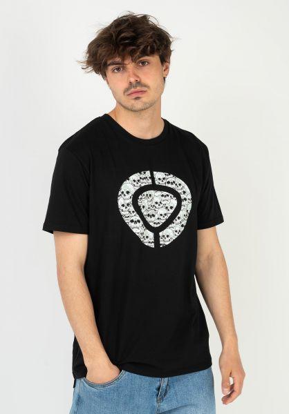 C1RCA T-Shirts Icon Skull black vorderansicht 0324082