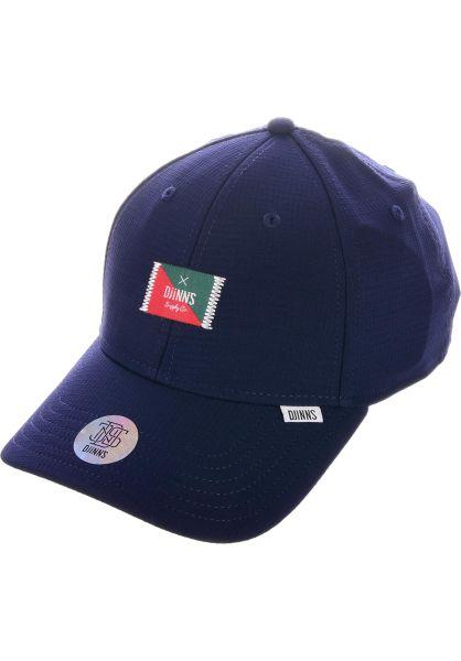 Djinns Caps TrueFit Cap 50:50 navy vorderansicht 0566214
