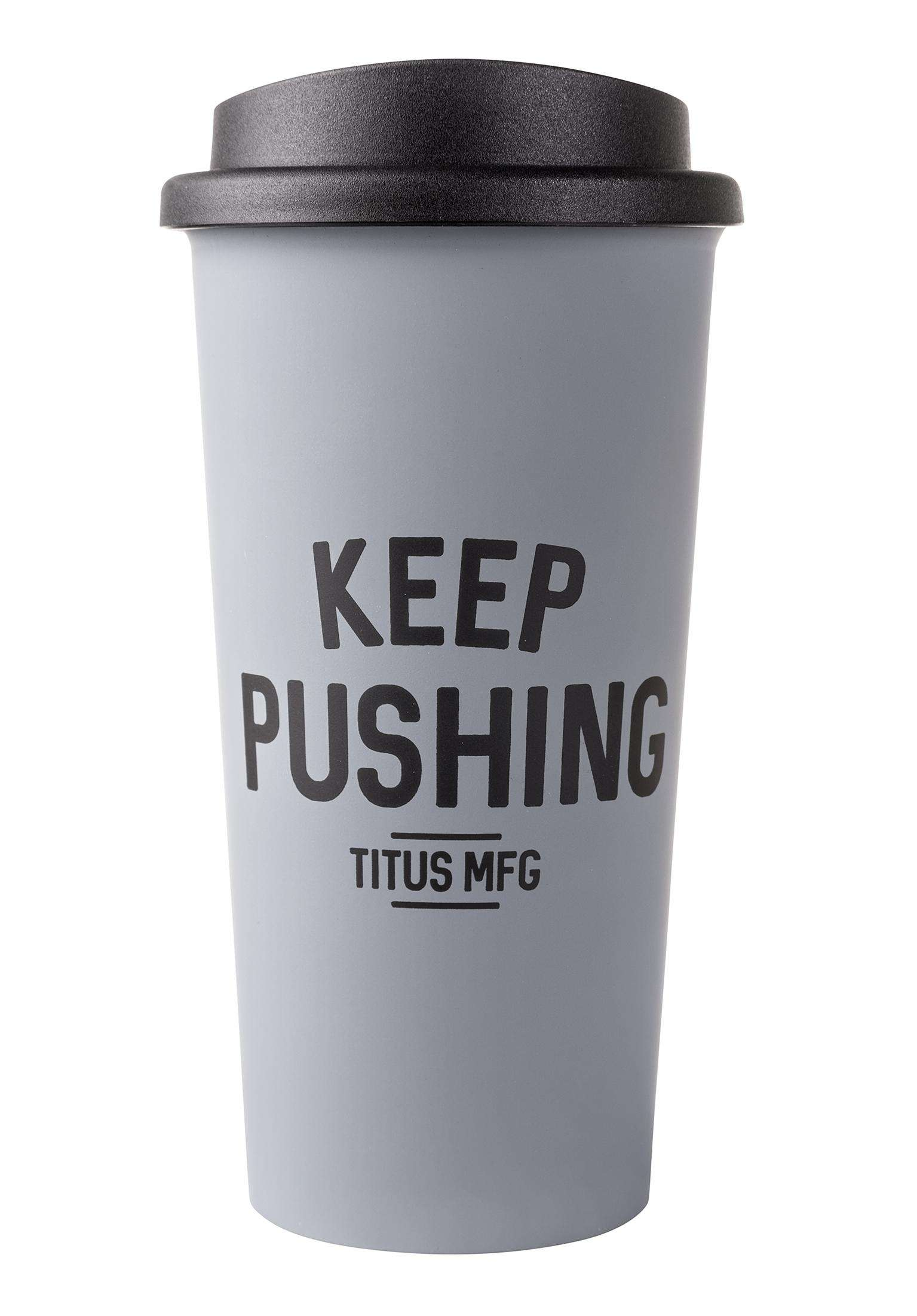 Titus Thermo Titus Keep Pushing Mug zMVpqSUG