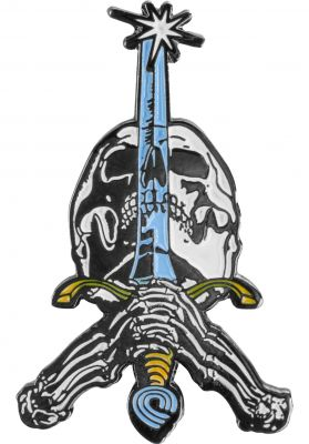 Powell-Peralta Skull & Sword Lapel Pin