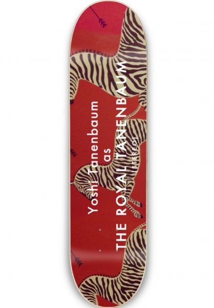 Stereo Skateboard Decks Yoshi Tanenbaum Royal red vorderansicht 0262133