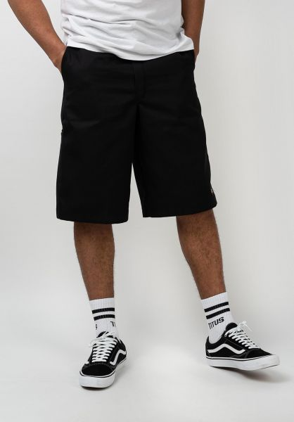 Dickies Chinoshorts 13´´ Multi-Pocket Work Short black vorderansicht 0281026