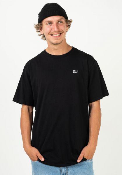 TITUS T-Shirts Script Tee black vorderansicht 0320149