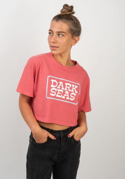 Dark Seas T-Shirts Broadcast Cropped Women calypsocoral vorderansicht 0383311