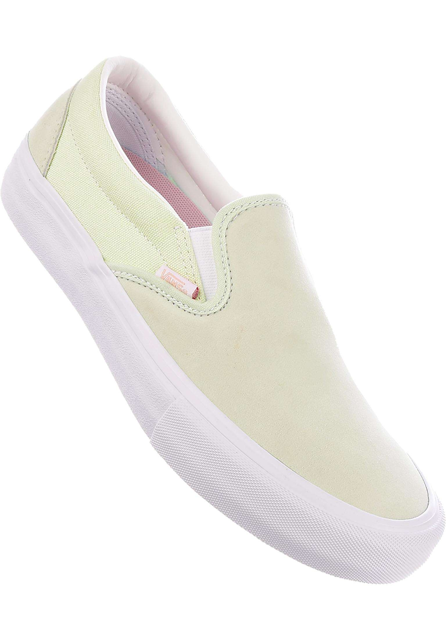 05472993a1 Slip-On Pro Vans All Shoes in ambrosia-white for Men