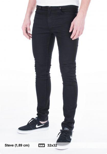 TITUS Jeans Skinny Fit black-black Vorderansicht
