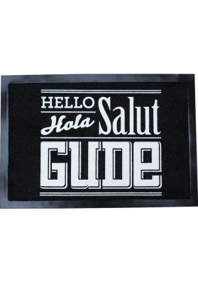 GUDE Hello Hola Salut Gude