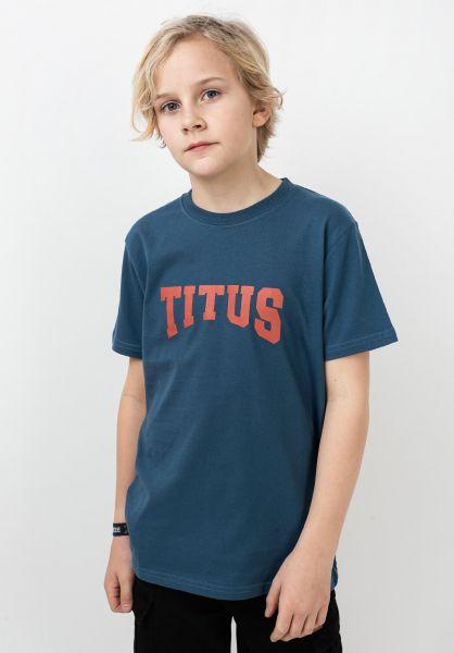 TITUS T-Shirts Edward Kids stellar vorderansicht 0320203
