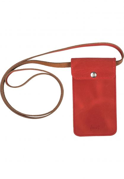 Forvert Portemonnaie Hauke red vorderansicht 0780973