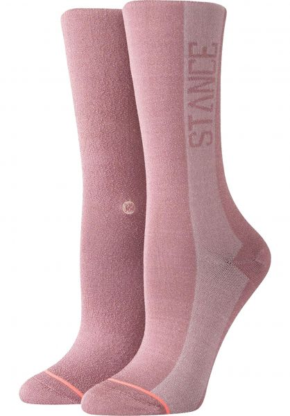 Stance Socken Judge Me purple Vorderansicht