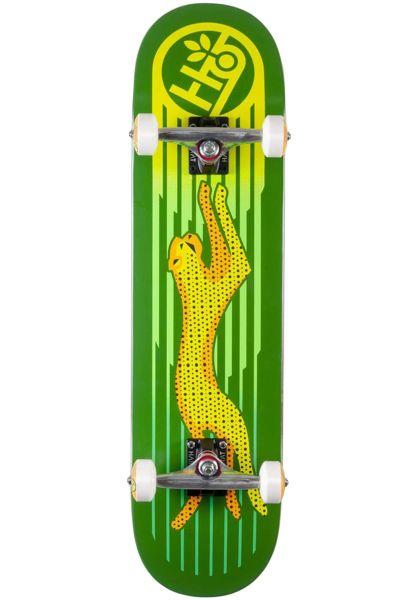 Habitat Skateboard komplett Neon Cheetah green vorderansicht 0162388