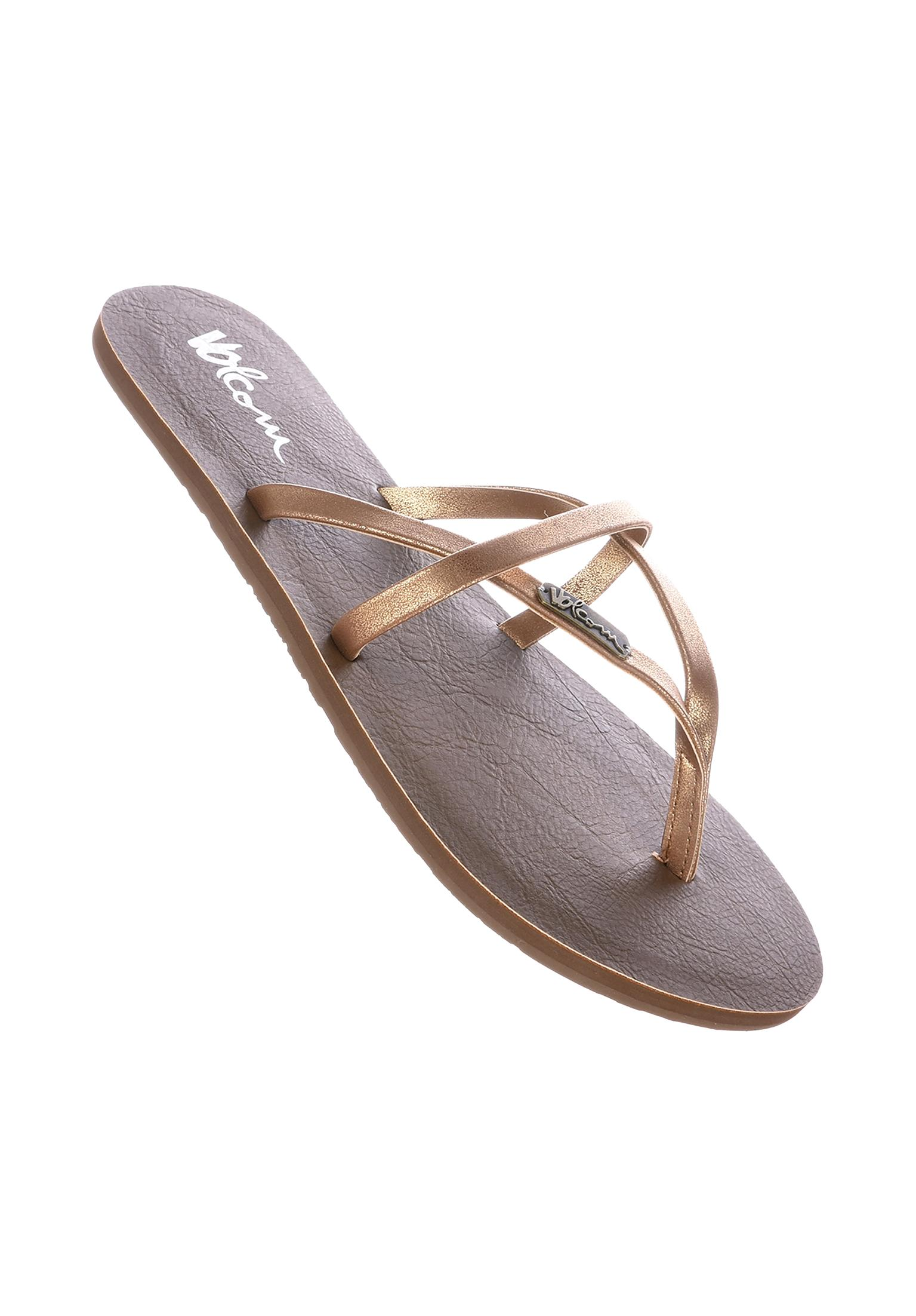 bd8a58a43 All Night Long Volcom Sandals in bronze for Women