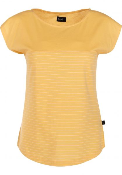 Forvert T-Shirts Noatak yellow-white unteransicht 0399448