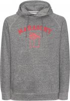 Mahagony Hoodies Brand Hood Sweater charcoalmelange-red Vorderansicht