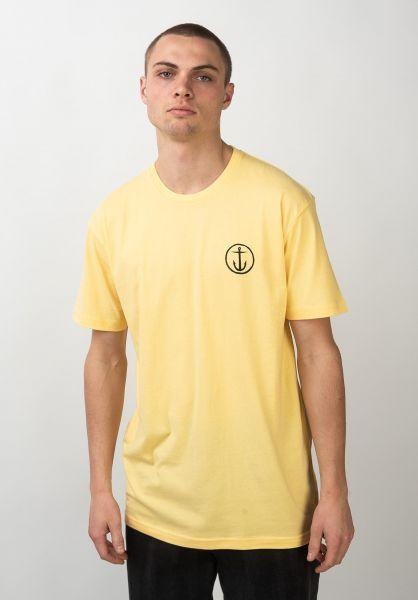 Captain Fin T-Shirts Mini OG yellow vorderansicht 0321333