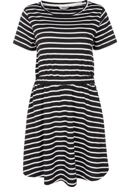 Wemoto Kleider Panda Striped black-white vorderansicht 0801440