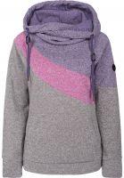 WLD Hoodies Winter-Cheriemoya-II lila-violet-grey Vorderansicht