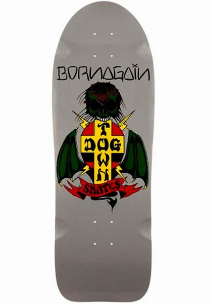 Dogtown Skateboard Decks Born Again Reissue grey Vorderansicht