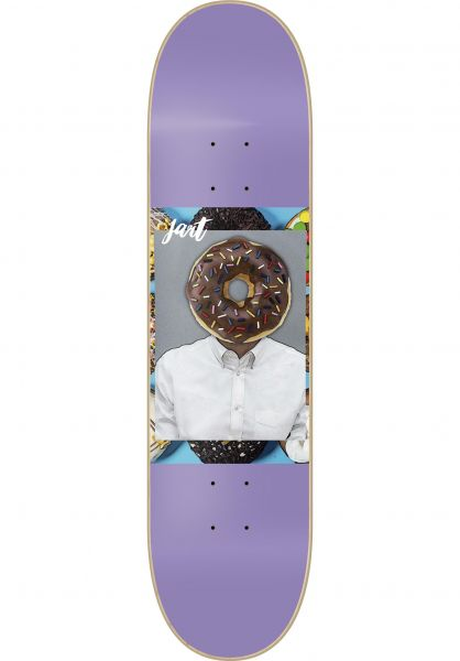 JART Skateboard Decks American Dream purple Vorderansicht