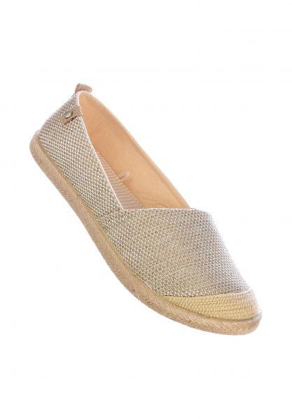 Roxy Alle Schuhe Flora II gold-cream vorderansicht 0612441
